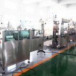 Linha de produção automática de máquinas de enchimento de máquina de enchimento de garrafas para 70% de álcool desinfetante para as mãos, shampoo, gel de banho, líquido