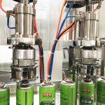 Máquina de enchimento da lata do aerossol para o cartucho de gás butano