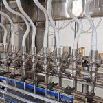 Máquinas de enchimento de líquidos para sistemas de linha de enchimento de garrafas