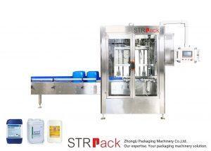 Máquina de enchimento automática de peso líquido