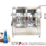 Máquina de enchimento automática de pasta servo