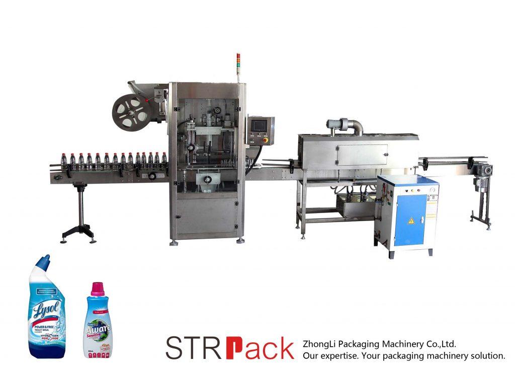 Máquina de rotulagem automática de luvas retráteis