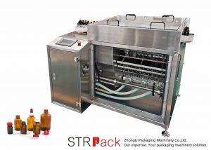 Máquina de enxaguamento de garrafas