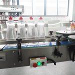 Linha de encadernação de limpeza líquida da garrafa da máquina de enchimento