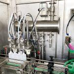 Máquina de etiquetas tampando da máquina de engarrafamento líquida à prova de explosões da colagem