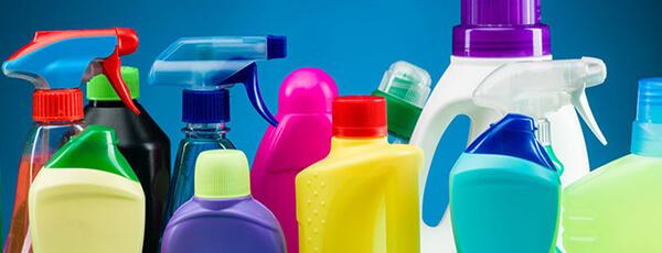 Máquinas de enchimento de produtos de limpeza doméstica