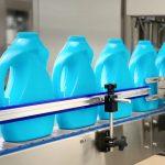 Máquina de enchimento líquida do detergente para a roupa