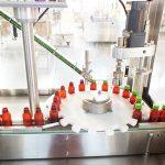 Linha de empacotamento tampando da máquina líquida automática da vitamina