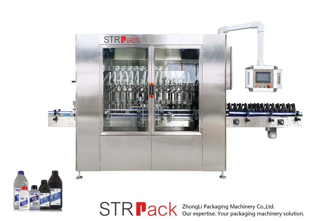 Máquina de enchimento automática de óleo lubrificante