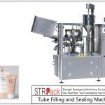 Máquina de enchimento e selagem de tubos plásticos SFS-100