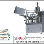 Máquina de enchimento e selagem de tubos de metal SFS-60Z